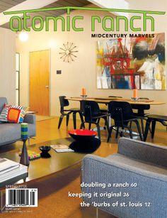 Atomic Range Magazine - Beautifully kept Mid Century Modern Homes and their Furnishings.