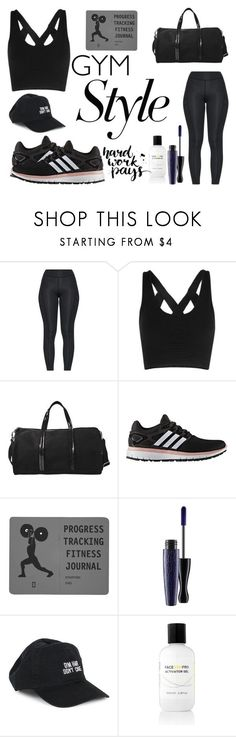 """""""Work It Out: Gym Essentials (Contest)"""" by lollipollipop ❤ liked on Polyvore featuring Vanessa Bruno, adidas, MAC Cosmetics, Body Rags and Face Gym Men's Super Hero Shirts, Women's Super Hero Shirts, Leggings, Gadgets & Accessories 50%OFF. #marvel #gym #fitness #superhero #cosplay lovers"""