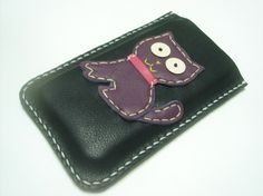 MoMo the Cat iPhone Leather Case