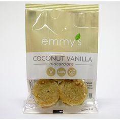 12 Pack Coconut Vanilla Macaroons (2oz Each)
