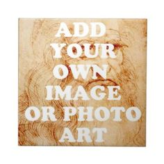 GIFT CERAMIC TILES - CREATE YOUR OWN - ADD PHOTOS & YOUR ART + CUSTOME FRAMING by libertydogmerch