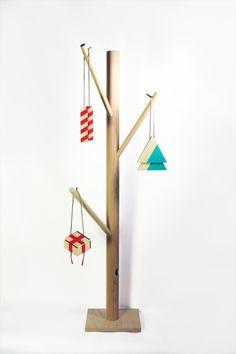 Décorations de Noël minimalistes par les canadiens de Studio Bup