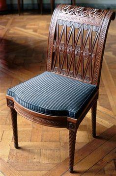 Chaise, sièges de la laiterie de Marie-Antoinette à Rambouillet   Images d'Art