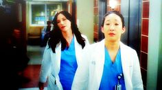 Day 2: favorite female Character.  I cannot choose between these two amazing Characters. Lexie Grey and Cristina Yang!