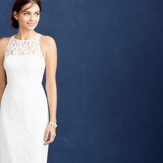 Pamela gown in Leavers lace $650