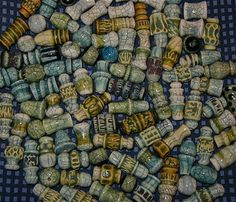 beads at Penn Avenue Pottery by Tracey Donoughe, #traceydonoughe