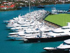 Yacht Club at Isle de, Sol St. Maarten (the empty slip in the foreground is mine, i'm out for a cruze, ha ha!! i wish)