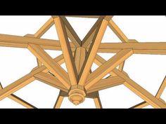 Cubierta de madera con acabado exterior en brezo nacional - Carpinteria santa clara ...
