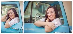 Bluffton Senior Portraits - Vintage Boho style in downtown Bluffton and Beaufort  See more here http://www.nadiahurttphotography.com/2014/11/15/becca-class-2015-senior-photographer-beaufort-south-carolina/  #senior #classof2016 #vintage #ford truck #old truck #old bike #barn