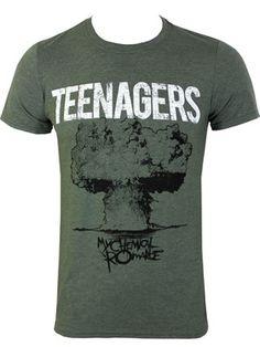 My Chemical Romance Teenagers Men's Slim Fit T-Shirt
