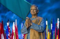 Muhammad Yunus, the founder of Grameen Bank, a thriving microcredit organization Female Empowerment, Muhammad, To Focus, Organization, People, Getting Organized, Organisation, Tejidos, People Illustration