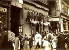 Mercado de San José – Mercat de Sant Josep – La Boqueria - La Barcelona de antes