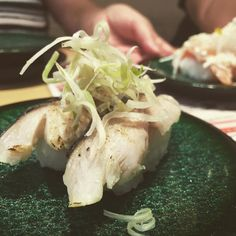 炙りシメサバです #sushi #mackerel #aburi # by takoba_