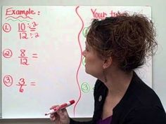 Simplifying Fractions-Christine Munafos Flipped Classroom-4th grade STEM