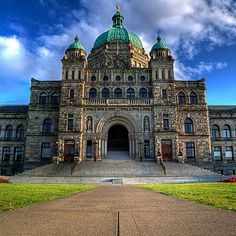 BC Parliament Building, Victoria, British Columbia, Canada | by ecstaticist, via Flickr