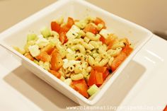 Clean Eating Recipe – Cucumber Tomato Pasta Salad | Clean Eating Recipes