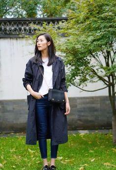 Liu Wen is wearing Mulberry Clifton Bag  #MULBERRY  from @bagisbig's closet