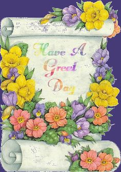 Have a great day, day greeting, animation, animated, gif