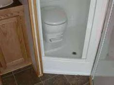 Small Rv Bathroom & Toilet Remodel Ideas 5 image is part of 80 Wonderful Small RV Bathroom and Toilet Remodel Ideas gallery, you can read and see another amazing image 80 Wonderful Small RV Bathroom and Toilet Remodel Ideas on website Kombi Trailer, Kombi Motorhome, Box Trailer, Toilet Shower Combo, Small Shower Stalls, Folding Campers, Camper Bathroom, Toilet Sink, Small Rv
