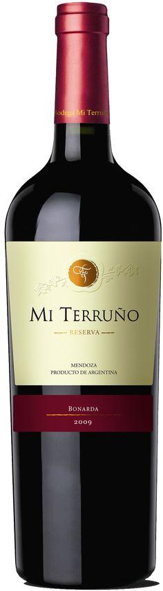 """""""Reserve"""" Bonarda 2012 - Bodega Mi Terruño, Maipú, Mendoza-------- Terroir: Perdriel-------------------Crianza: 7 meses en barricas de roble francés y americano"""