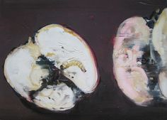 "Saatchi Online Artist patrick Jennings; Painting, ""infested fruit 2"" #art"