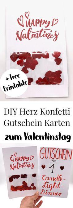 DIY Geschenke zum Valentinstag selber machen. So bastelt Ihr Euch schöne Geschenke für ihn oder für sie. Karten zum Valentinstag selber machen, schöne Geschenkideen für den Freund oder die Freundin. Liebesgeschenke, Valentinstagsgeschenke, Tutorial, Anleitung, Basteln.