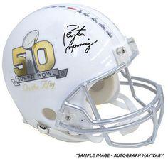 "PEYTON MANNING Autographed Super Bowl ""On The 50"" Proline Helmet FANATICS - Game Day Legends"