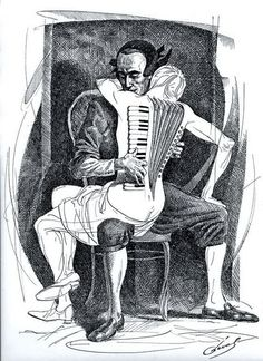 Michael Cheval.- Button Accordion, Accordion Music, Accordion Instrument, Music Drawings, Art Drawings, Fonte Alphabet, Drawing Piano, Tango Dancers, Art Paintings For Sale