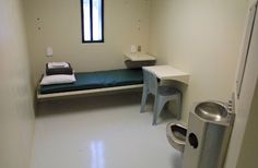 inside prison cells -