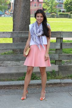 Peachy Keen - outfit post from Jocelyn Caithness, a Toronto Lifestyle blogger