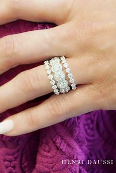 Stunning Wedding Bands For Women ❤ See more: http://www.weddingforward.com/wedding-bands-for-women/ #weddings