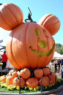 Halloween at Disney world.