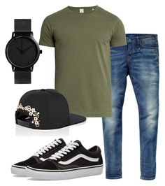 """""""love"""" by shantastica on Polyvore featuring Scotch & Soda, Sørensen, Vans, Givenchy, men's fashion and menswear"""