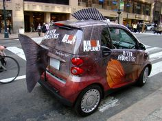 Smartcar...Jeremy Wade style! Jeremy Wade, Smart Auto, Smart Car Body Kits, Fisher, River Monsters, Girls Driving, Smart Fortwo, Guerilla Marketing, Smart Girls