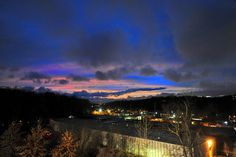 Swannanoa sunset by BillRhodesPhoto, via Flickr