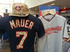 Now available at Target Field: USMC digi camo T-shirts, hats and jerseys!