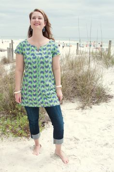 Tunic Sewing Pattern: polkadotchair.com
