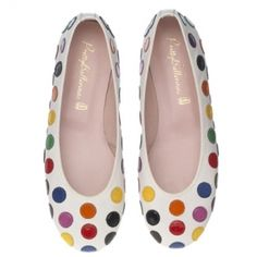 Pretty Ballerinas...I'm not usually a polka dot girl but these look fun!
