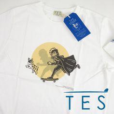 TES エンドレスサマー TES x BLACK JACK 手塚治虫 コラボTシャツ FH-1574601 【半袖Tシャツ】 【メール便可】 -JOE-
