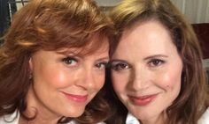 Susan Sarandon and Geena Davis update selfie from 1991 Thelma & Louise