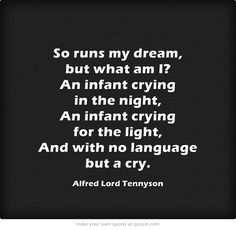 In Memoriam by Tennyson, such beautiful poetry about loss and faith