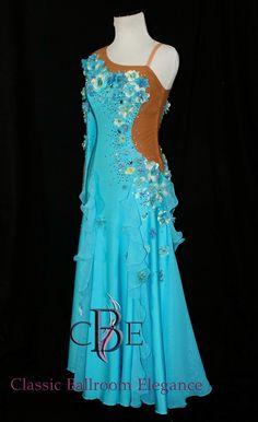 679f538af660e Custom Jr. smooth Dress by Classic Ballroom Elegance - Luxury Ballroom Dress  Rentals, Sales