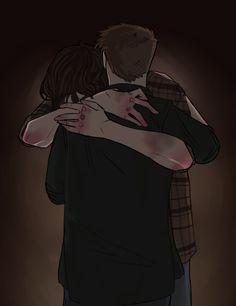 Beautiful Sam and Dean