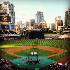 Go to a Padres game (preferably while they are playing the Yankees)
