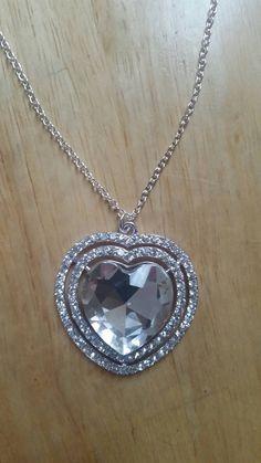 Disney Frozen inspired Necklace Silver by ItsAGirlThingDesignz