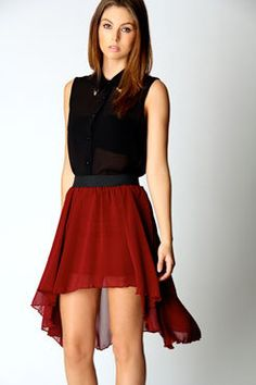 Jude Chiffon Mixi Skirt