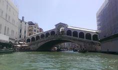 Venice the famous bridge