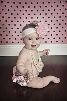 Oh yeah. baby girl will definitely has some glamour shots. ;)