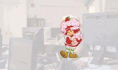 @evasilchenko as Strawberry Shortcake #anonohat
