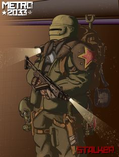 Stalker Metro 2033